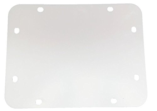 r JK Tailgate Spare Tire Delete Plate 2007-Current Blank Plate