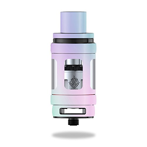 (MightySkins Skin for Smok TFV12 Cloud Beast King Tank – Cotton Candy   Protective, Durable, and Unique Vinyl Decal wrap Cover   Easy to Apply, Remove, and Change Styles   Made in The USA)