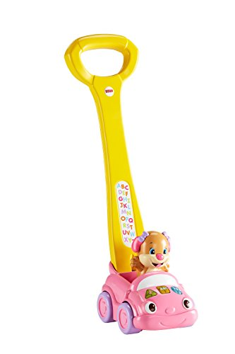 Fisher-Price Laugh & Learn Sis' Smart Stages Push Car (Fisher Price Laugh And Learn Puppy Push Car)
