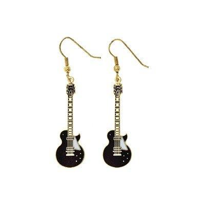 Les Paul Guitar Earrings (Guitar Earrings)