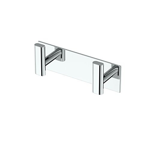 Gatco 1283 Elevate All All Modern Décor Hook, Double, Chrome ()
