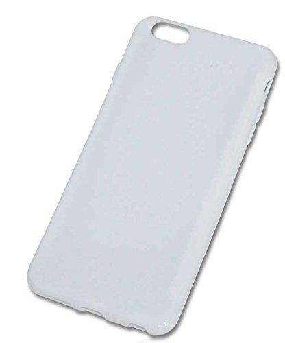 Dark Case Handy Tasche Hülle für Apple iPhone 6 Plus / Schutzhülle Handytasche weiß