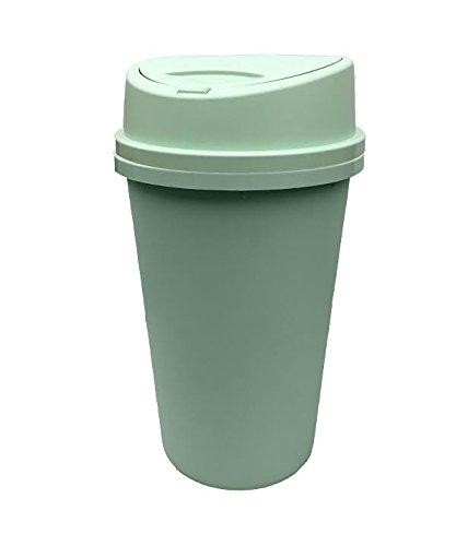 NEW DUCK EGG BLUE, GREEN TOUCH TOP BIN 45L, KITCHEN BIN LIFT UP LID