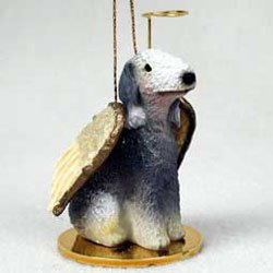 Conversation Concepts Bedlington Terrier Pet Angel Ornament ()