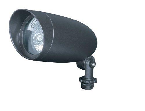 nuvo lighting sf76646 one light par20 120 volt die cast aluminum durable outdoor landscape security lighting flood dark bronze - Volt Landscape Lighting