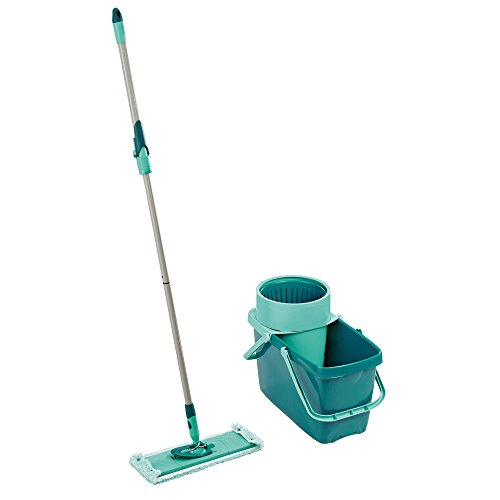 Leifheit Household Essentials Clean Twist XL Rectangle Mop and Sweeper Set