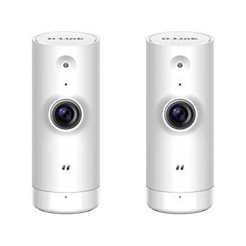 42a75de29e8 Amazon.com   D-Link HD Mini Indoor WiFi Security Camera 2-Pack ...