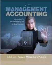 Book Management Accounting: Information for Decision-Making and Strategy Execution and myAccountingLab with Pearson eText Student Access Code Card for Management Accounting Package (6th Edition)