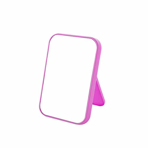 Joly Tabletop Vanity Makeup Mirror 4 Color for You Choice (Rose Red) (Halloween Tabletop)