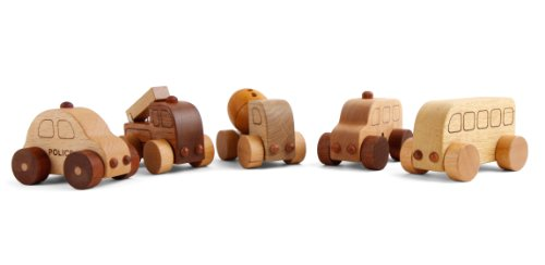 (Soopsori Wooden Car Village Set)