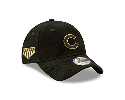 New Era Chicago Cubs 2019 MLB Armed Forces Day 9TWENTY Adjustable Hat - Camo