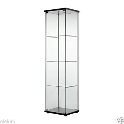 Wondrous Ship From Usa Ikea Detolf Glass Door Cabinet Black Brown Packno 5R27G2 1C82Hy2433 Download Free Architecture Designs Scobabritishbridgeorg