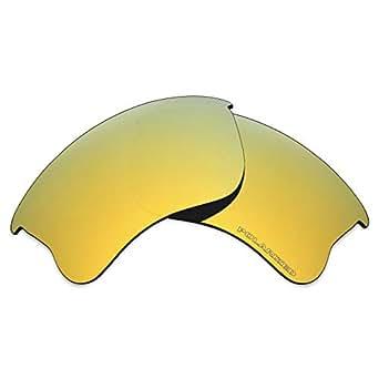 Mryok+ Polarized Replacement Lenses for Oakley Flak Jacket XLJ - 24K Gold