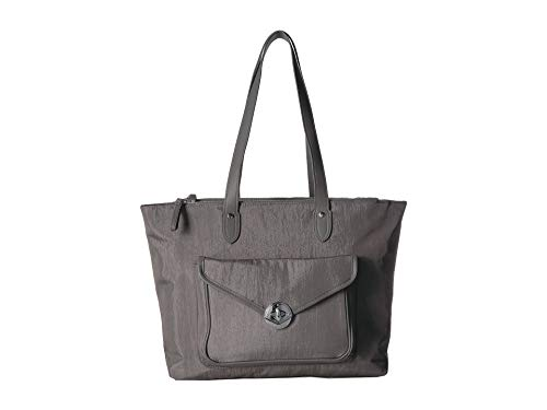 Baggallini Women's Fairfax Laptop Tote Sterling Shimmer One Size