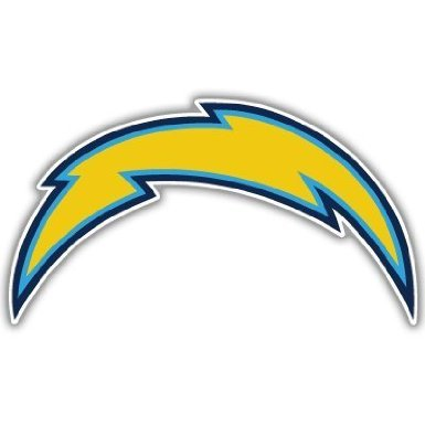 (San Diego Chargers Color 8