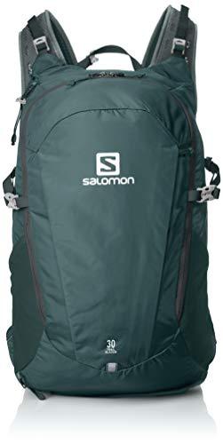 Salomon Leichter Rucksack (15L) fürs Laufen, Hiken oder Radfahren, 40 x 18 x 17 cm, SKIN PRO 15 SET, Blau, L40136600