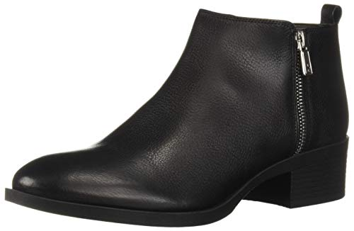 - Kenneth Cole New York Women's 7-Levon Dual Zip Bootie Ankle Boot Black 9 M US