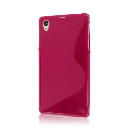 Empire MPERO FLEX S Series Protective Case for Sony Xperia Z1 C6906 - Retail Packaging - Hot Pink