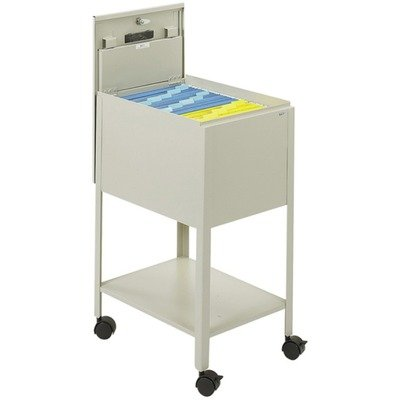 SAF5361PT - Safco Standard Locking Mobile Tub File - Safco Lateral File