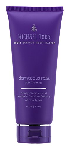 s Rose Milk Cleanser Gently Cleanses and Maintains Moisture Balance for All Skin Types, 6 Ounce (Todd Water)