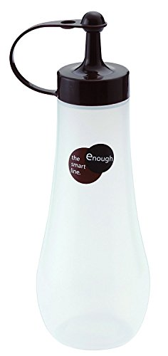 Bottle Gourmet Oil (JapanBargain 1201-LB 3272 Squeeze Bottle, 12oz-Chocolate, Brown)