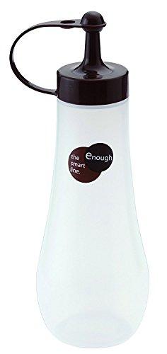 Oil Gourmet Bottle (Japanese Squeezee Bottle Soy Sauce Pot Salad Dressing Bottle 12oz)