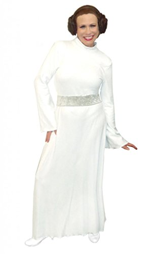 Sanctuarie Designs Womens /DRESS ONLY/ Princess Leia Star Wars Dress Plus Size Supersize Halloween (Plus Size Jedi Costumes)
