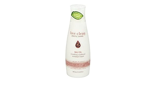 Amazon.com: Live Clean Exotic Shine Bali Oil with Coconut Oil & almond oil Smoothing Conditioner, 350ml: Beauty