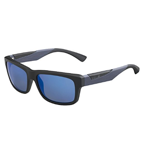 Bolle Jude Sunglasses Matte Black/Grey Wood, - Bolle Jude Sunglasses