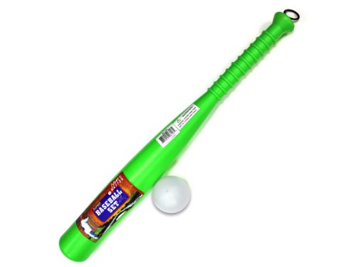 Plastic Baseball Bat And Ball by bulk buys
