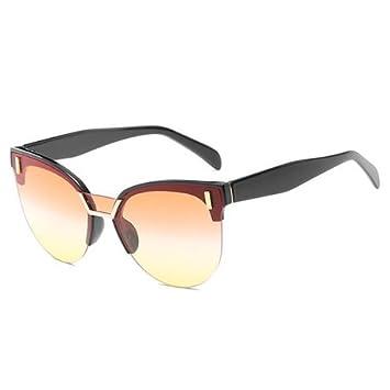 GGSSYY Gafas de Sol rectangulares Mujer Diseñador de la ...