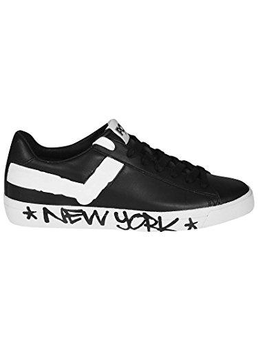 Nero Unisex F3 Bianco 634 Sneakers Pony Summer White Black J Pelle Spring 2018 qXwdRn6