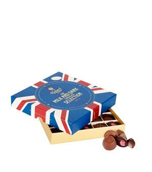 Charbonnel et Walker Union Jack Milk and Dark Chocolate Selection Box 315g