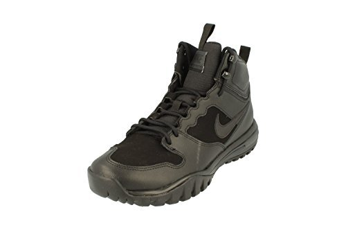 Sneaker Boot - NIKE Dual Fusion Hills Men's Lace-up Boots (10 D(M) US, Black/Black)