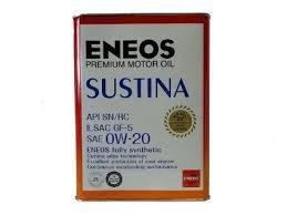 エネオス プレミアムオイル サスティナ 0W-20 4L  ENEOS SUSTINA