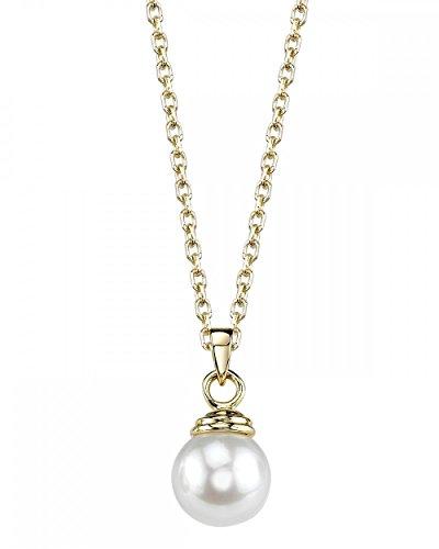 Japanese Akoya Pearl Pendant - 4
