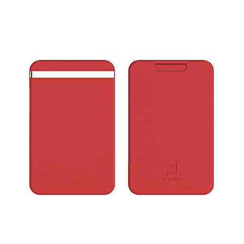 Credit Card Push-Pull Card Holder, Outsta Anti-Side Wallet Action Wallet Package Accessories (Red)