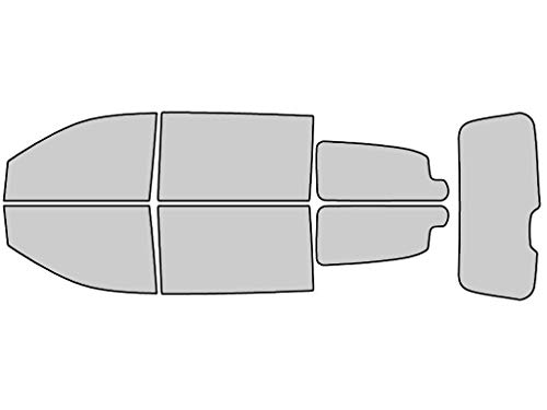 Rtint Window Tint Kit for Dodge Grand Caravan 2008-2019 - Complete Kit - 20%