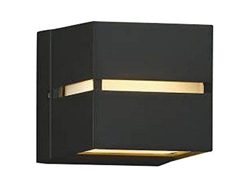 コイズミ照明 門柱灯 両面照射 黒色塗装 AU35035L B007B7GXJC 12398