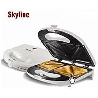 Skyline Non-Stick Sandwich Toaster, 2 Slice(Multicolour, VT 5054)