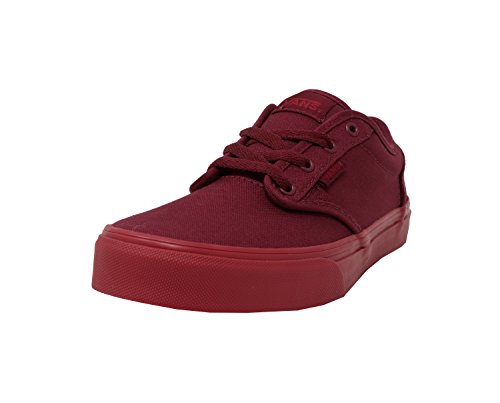 9331a0511d Galleon - Vans Kid s youth Atwood Shoes Check Liner Burgundy Sneakers (3.5)