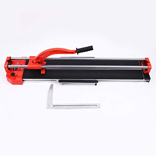 (Manual Tile Cutter Tools 31.5 Inch Adjustable Laser Guide Tile Cutter Machine for Precision Cutting of Porcelain Ceramic Floor Tiles Cutter (31.5 Inch))