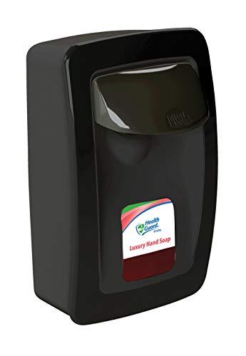 Designer Series SS001BK31 Manual Wall Mount Dispenser, Plastic, 1250 mL, Black with Black Trim (Each)