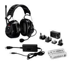 3M Peltor MRX21A2WS6-ACK WS Alert XP - Auriculares de diadema, color negro