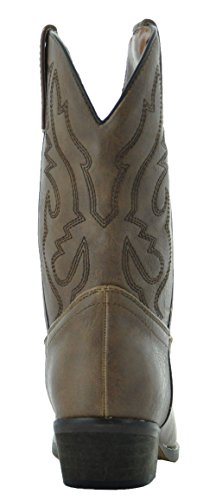 Country Love Little Rancher Kids Cowboy Boots K101-1001 (10, Brown) by Country Love Boots (Image #4)