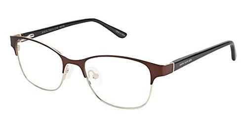 Taylor Petites Ann - ANN TAYLOR Eyeglasses ATP706 C02 Brown Gold