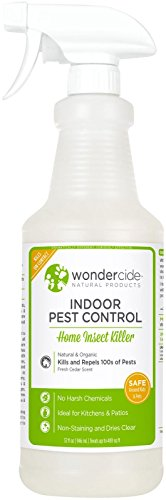 Wondercide Natural Indoor Pest Control Spray - Home Insect Killer - Cedar - 32 oz