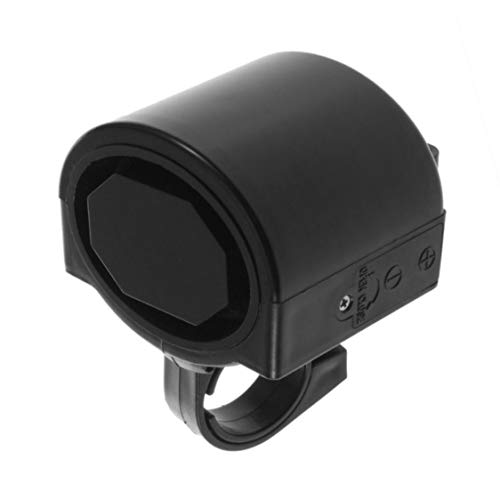 Mini Electronic Bicycle Horn Electrical Bike Bell Cycling Handlebar Ultra Loud Alarm Ring Battery Powered 360 Degree Rotating from Vige