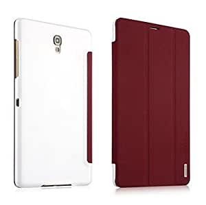 LIMME Fashion Design Protective Smart Leather Case for Samsung Galaxy Tab S 8.4 Tablet SM-T700(Assorted Color) , Brown
