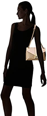 Calvin Klein Alexis Monogram Shoulder Bag